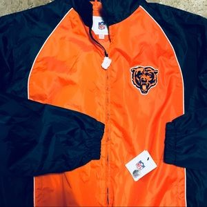 NFL Chicago Bears Wind Breaker Men's Large